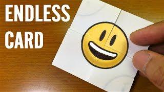 Tutorial EMOJI Transformations|Endless Card|Never Ending Card DIY for kids