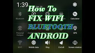 How To FIX WIFI & Bluetooth Android 100% Working