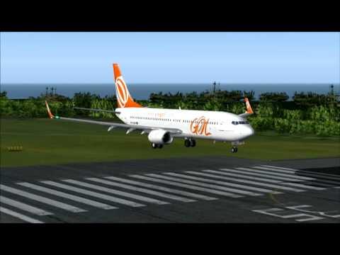 737-800 GOL SÃO PAULO GRU - SANTO DOMINGO