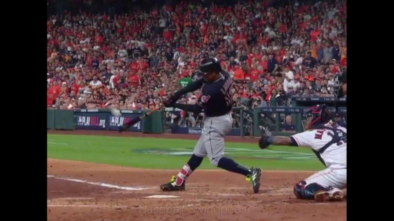 Francisco Lindor Home Run Swing Slow ...