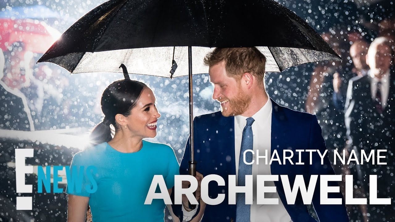 Prince Harry & Meghan Markle Announce New Non-Profit, Archewell News
