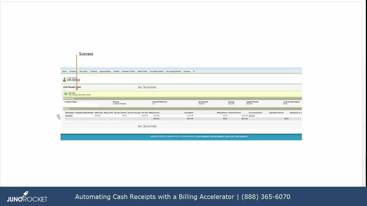automating the cash receipt process in accounting seed for