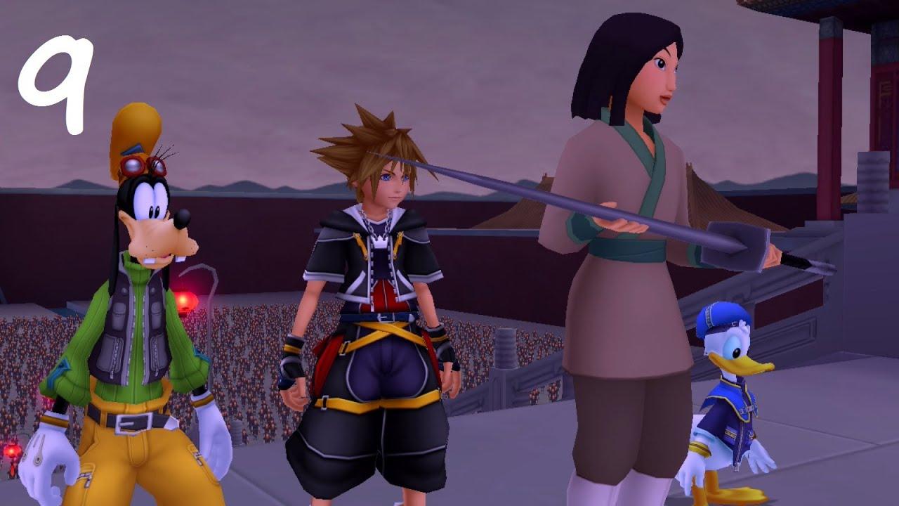 Kingdom Hearts 2 HD ReMIX   Episode 9   Terres des Dragons ...