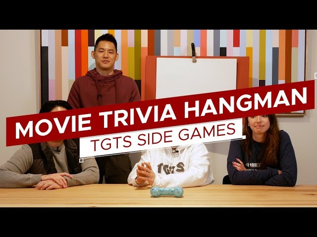 Sci-Fi Movie Trivia | Game: Trivia Hangman | TGTS Side Games #5
