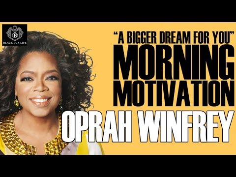 Black Excellist: Morning Motivation for Excellence featuring Oprah Winfrey