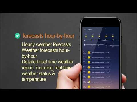 Amazing Weather Alerts Application For Android App Demonstration
