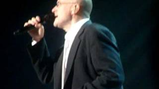 "Phil collins live "" Never Dreamed You'd Leave in Summer """