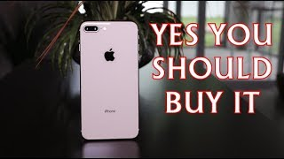 Apple iPhone 8 Plus Review  - Yes You Should Buy It