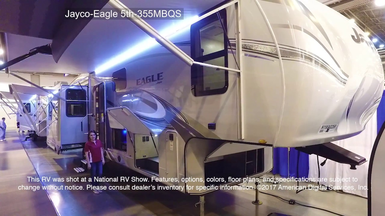 New 2017 Jayco Eagle 355MBQS Fifth Wheel at Jolley Rogers RV
