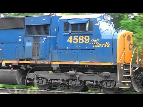 RARE! CSX Colonel Philip Hooper & Spirit of Nashville Engines Together!
