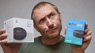 Echo Dot vs Home Mini...Which Should You Choose??