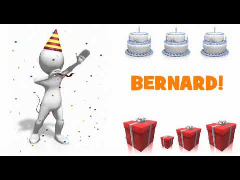 Joyeux Anniversaire Bernard Youtube