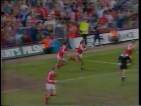 MIDDLESBROUGH V NOTTS COUNTY - DIVISION ONE PLAY-OFF SEMIFINALS 1990-91 - YouTube