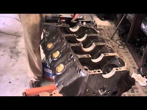 1968 GTO Engine Build Part 5 Rear Seal and Crankshaft install