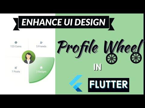 Flutter Tutorial | Profile Wheel | Enhance UI Design