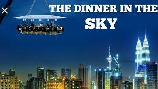 Dinner in the sky in urdu.by iman abid
