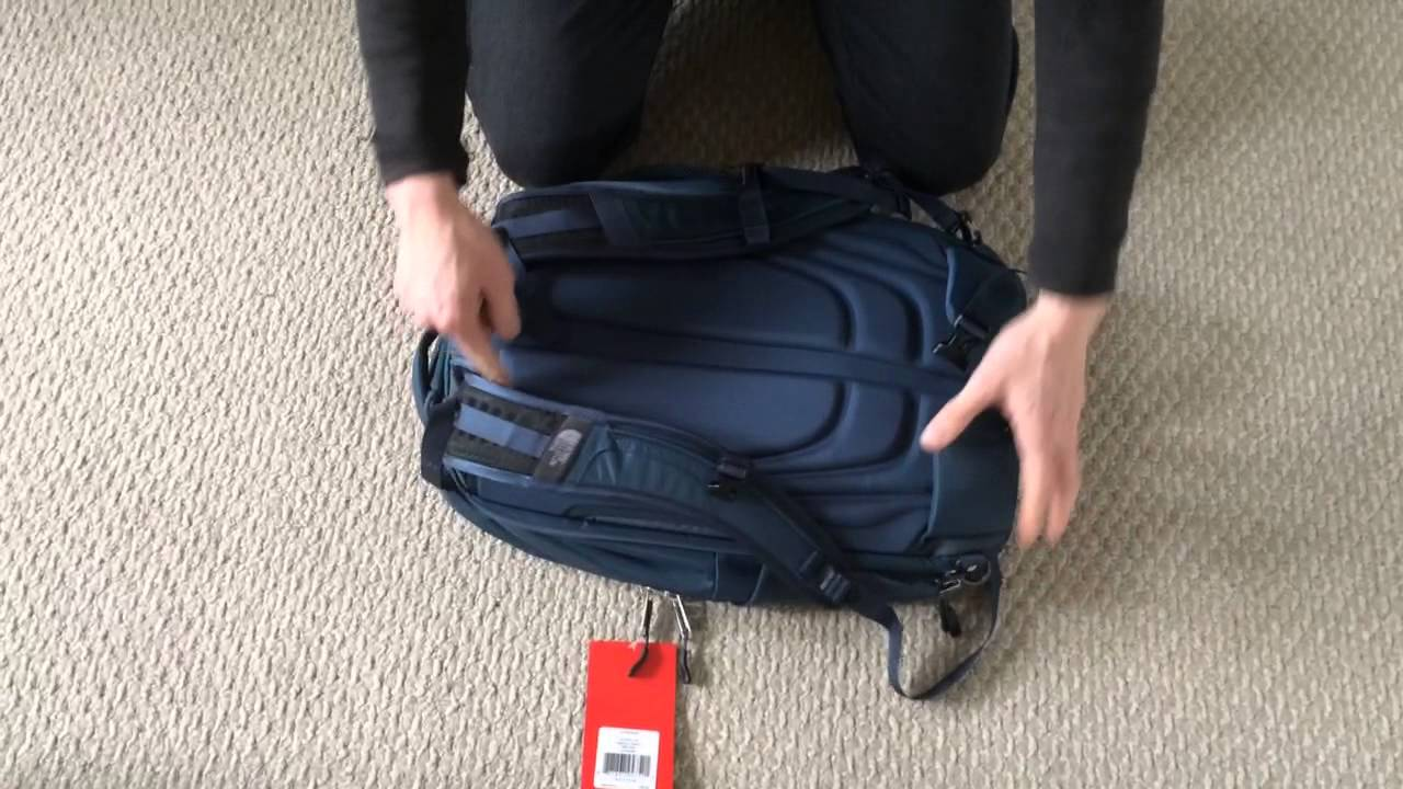 Hands on review of North Face Overhaul 40 Backpack - YouTube 1e1f0064c8e68