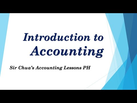 [Accounting Tutorial] INTRODUCTION TO ACCOUNTING for Filipino ABM students and Accounting Majors
