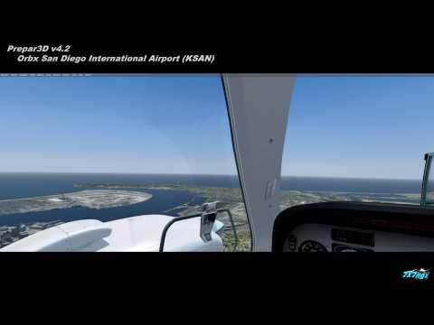 P3Dv4.2 Orbx KSAN San Diego International Airport