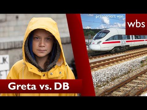 Greta vs. Deutsche Bahn: War 1. Klasse Post legal? | Rechtsanwalt Christian Solmecke