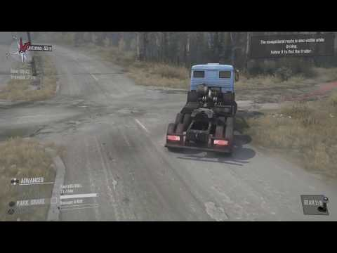Spintires Mudrunner PS4 Gameplay