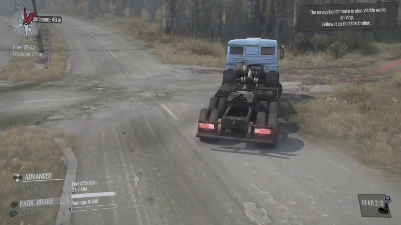 Spintires Mudrunner Ps4 Gameplay Youtube
