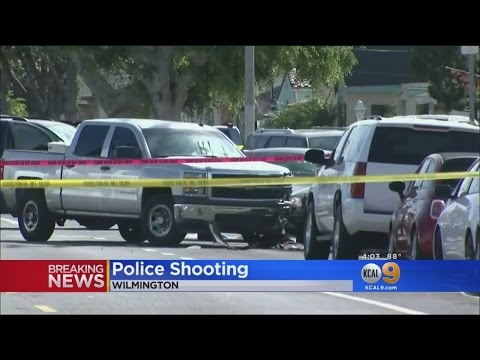 Man Suspected Of Murder Shot By Long Beach Police