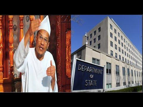 الشيخ علي بن حاج يشكك في تقرير الخارجية الأمريكية حول الجزائر