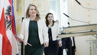 Pressestatements Nach Dem Ministerrat.