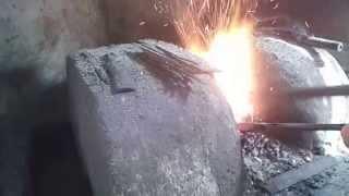 kang engking samurai IND: proses penyepuhan/pembuatan pisau dan golok berkualitas