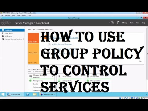 Creating A GPO To Disable Services On Windows Computers