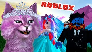 The NEW CROWN and makeup school of FAIRIES and PRINCESSES and MERMAIDS in roblox ROBLOKS Royale High School