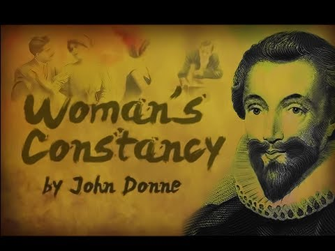 Woman's Constancy by John Donne - Poetry Reading