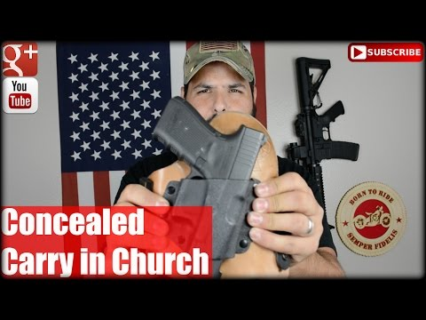 Concealed Carry in Church