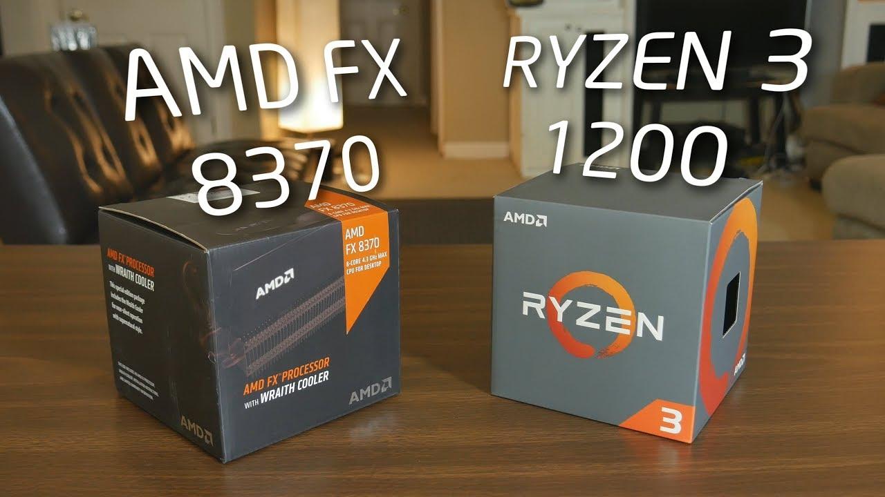 AMD Ryzen 3 1200 vs AMD FX 8370 - Should you upgrade from an FX CPU? |  OzTalksHW