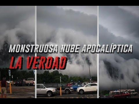 La Monstruosa Nube Apocaliptica Que Grabo Una Mujer Tiene Una Explicacion