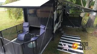 patio life 365 patio garage door solution for toy hauler and rv s