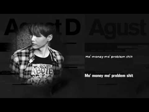 Mix - BTS Suga (AGUST D) - Tony Montana FT. Yankie [Lyrics Han|Rom|Eng]