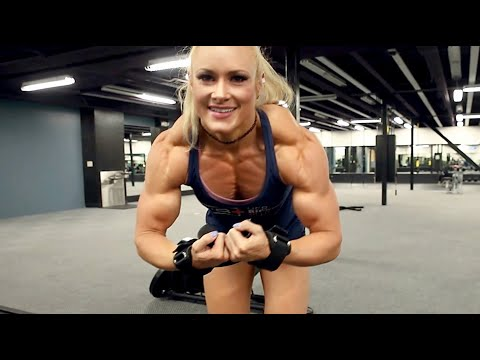BIG MUSCLES with Female Bodybuilder Lindsey Cope