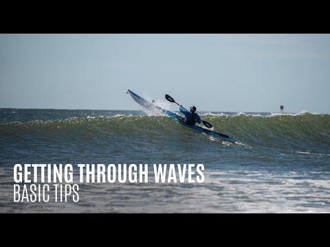 Getting Through Waves - Basic Tips - Kayak Hipster