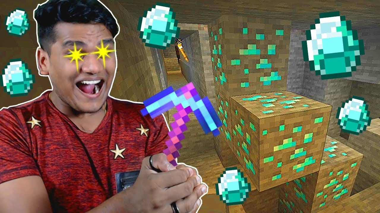 Download Using Fortune III on Diamonds in Minecraft *EPIC* - Part 17