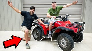 Buying FAMOUS YouTubers FOUR-WHEELER! *INSANE DEAL*