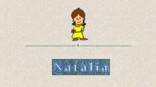 Animación Letra N