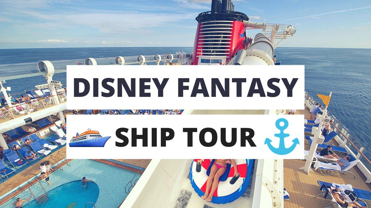 DISNEY FANTASY SHIP TOUR 2016  YouTube