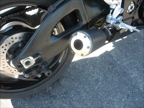 Suzuki GSXR 1000 Exhaust MP3 Audio XB Extremeblaster Open Pipe 2005 2006