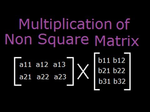 matrices square matrix Square matrices (m = n), defined according to the rules stated in §b5  the trace  of a n × n square matrix a, denoted trace(a), is the sum of its diagonal.