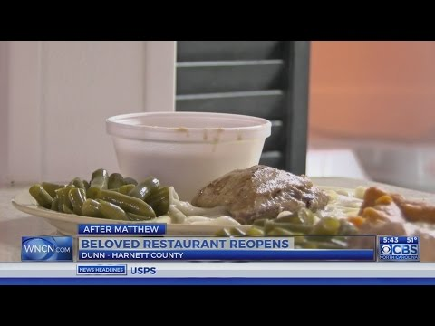 Eatery reopens in Harnett County