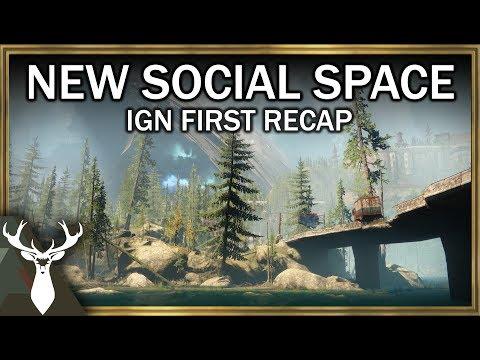 Destiny 2 - Farm Social Space (IGN First...