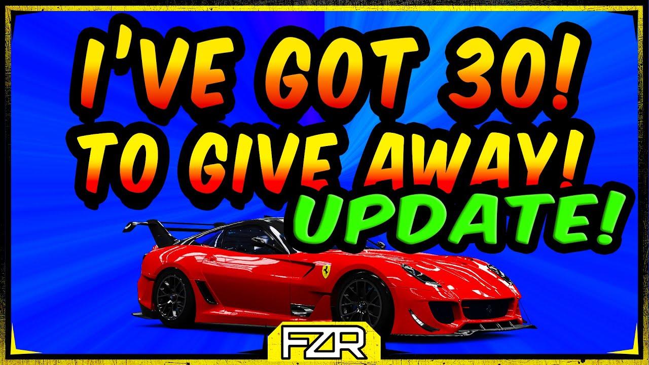 How To Get The Ferrari 599xx E Evo Free Forza Horizon 4 New 2020 Update Youtube