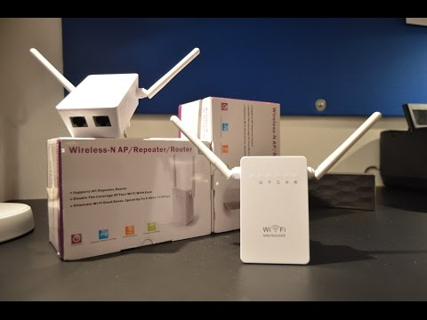 Wireless N Wifi repeater Review